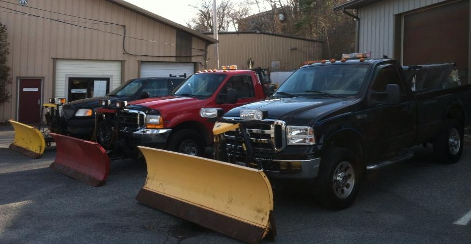 Compass Rose Landscaping Plow Trucks