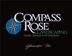Compass Rose Landscaping logo